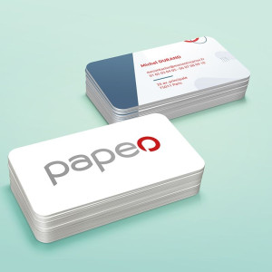 Impression carte plastique PVC