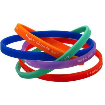Bracelet silicone extra-fin