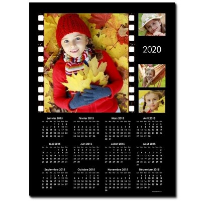 Magnet calendrier